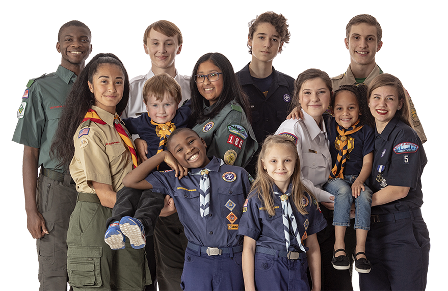 Group of Scouts