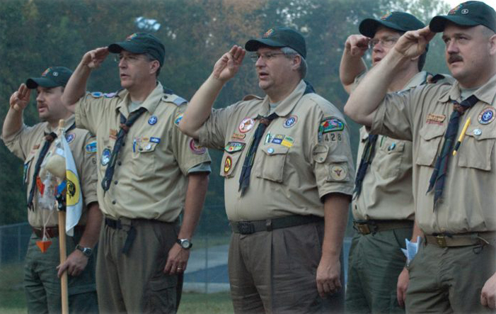 Wood Badge Scouts